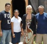 Sophie aus Australien beginnt als erste Freiwillige ihr Unterrichts – Projekt in Ecuador!