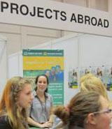 Besuch' Projects Abroad auf der Einstieg Abi Dortmund!