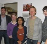 Neu im Team: Alicia unterstützt als Praktikantin das Berliner Büro