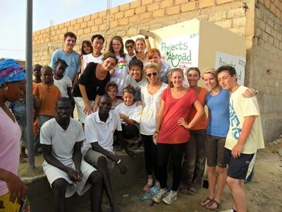 Projects Abroad Freiwillige nehmen an den Schulferien - Specials teil