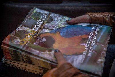 Schnuppere im Auslandspraktikum Journalismus in Produktion, Druck und Distribution des Cochabanners hinein