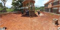 Ein neuer Spielplatz für die Grundschule in Sedburgh, Jamaika