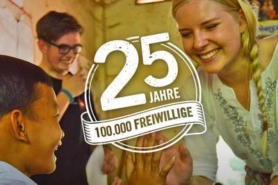25 Jahre Freiwilligeprojekte und Praktika im Ausland