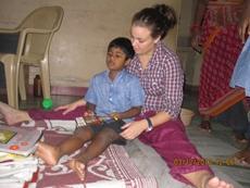 Humanitært arbejde i Indien