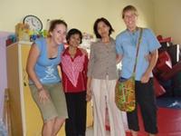 Frivillig fysioterapeout i Cambodja