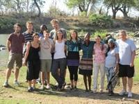 Mødet med de fremmede mennesker og dyr i Sydafrika