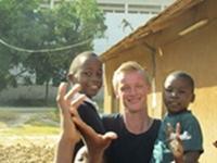 Sacha og Simon i Tanzania