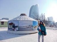 Stefani samler erhvervserfaring i Mongoliet