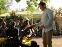Ludvig brugte sine kompetencer i Tanzania