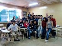 Sara og Thomas får undervisningserfaring i Argentina