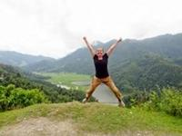 Louise udfordrede sine kompetencer i Nepal