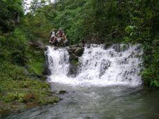 Vandfald i Ecuadors regnskov
