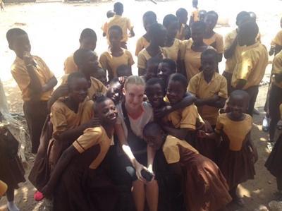 Lea Andreasen, Folkesundhed i Ghana