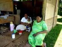 Projects Abroad Fiji planter 11 køkkenhaver i 'usund' landsby