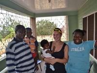 Folkesundhed og fantastisk værtsfamilie i Ghana