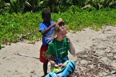 Iben Grundtvig, Natur & Miljø i Fiji