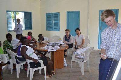 Oplysningsarbejde i Ghana