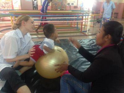 Fysioterapi i Cambodja