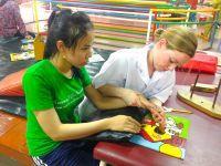 Interview med uddannet fysioterapeut-frivillig i Cambodja