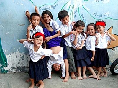 Undervisning i Cambodja - Regina Andersen