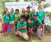 Amalie og hajerne i Fiji