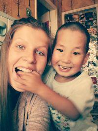 Ida arbejdede med forældreløse børn i Mongoliet