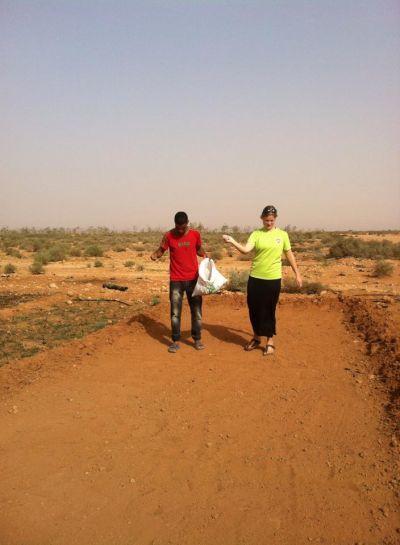 Sine Østerby og Anne-Katrine Højland, Nomadeprojekt - Marokko
