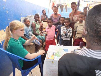 Dansk frivillig holdte foredrag om Ebola i Togo