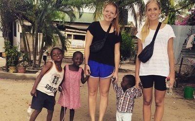 Frivillige på børnehjem i Tanzania
