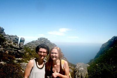 Frivillige på tur i Sydafrika