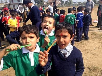 Børn fra medicinsk outreach