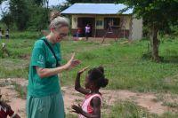 Mor og datter rejste til Ghana som ulandsfrivillige