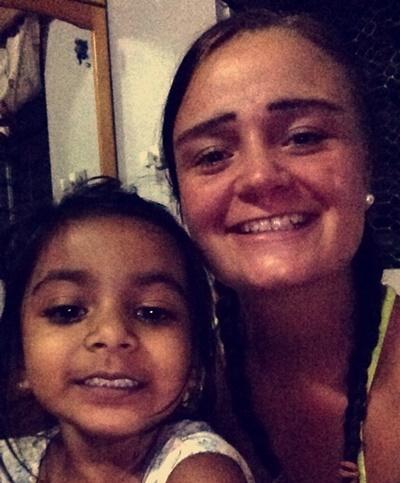 Julie og hendes fijianske søster