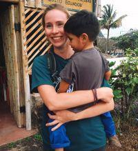 Esther på Galapagos