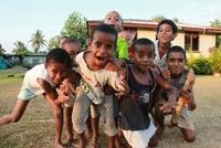 Familien Sundins - Undervisning i Fiji