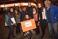 Frivillige fra Menneskerettighedsprojekt i Argentina hjælper tidligere hjemløst par til at få handicaphjælp