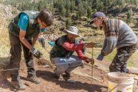 Nyt udgravningssted i Peru tegner lovende
