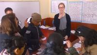 Høj efterspørgsel på gratis engelskundervisning i Peru