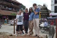 Genopbygningsprojekt i Kathmandu i Nepal