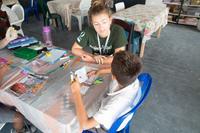 Vores læseprogram i Belize udvider