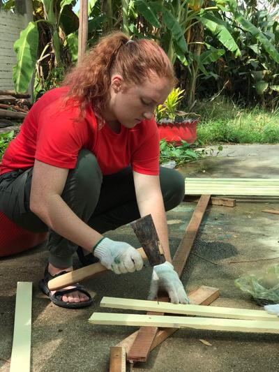Projects Abroad Ungdomsfrivillig i Cambodja