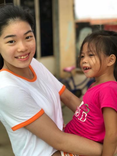 Ungdomsfrivillig i Cambodja