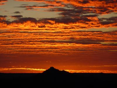 Solnedgang i Cape Town