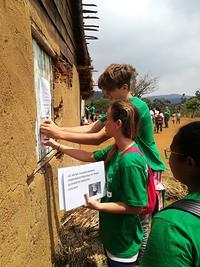 Oplysningskampagne om pest i Madagaskar