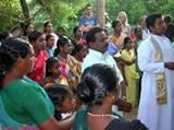 Volunteers Attend Opening Ceremony of Fisherman's Shelter in India