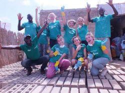 Grupo de voluntarios de Projects Abroad