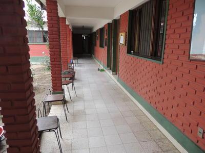 Les dortoirs d'un centre pour femmes victims d'abus ou de traffic en Bolivie