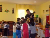 Les enfants avec mathias