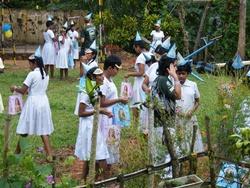 Nos volontaires au Sri Lanka organisent une fête d'anniversaire dans un orphelinat