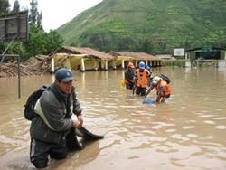 Catastrophe dans le Sud Pérou: Projects Abroad se mobilise